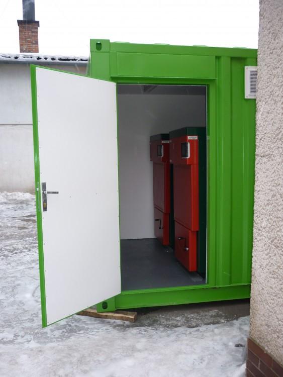 Котелни инсталации в контейнер 4