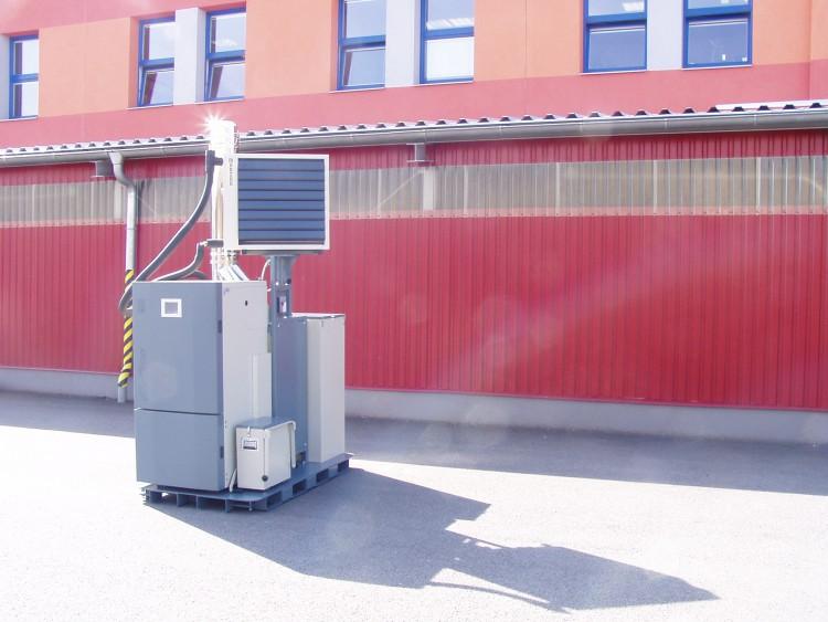 модул AIR снимка
