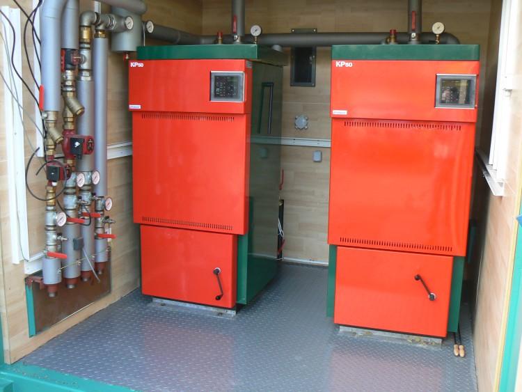 Котелни инсталации в контейнер 5