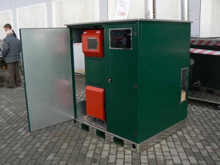 Котелна инсталация в мини контейнер 4