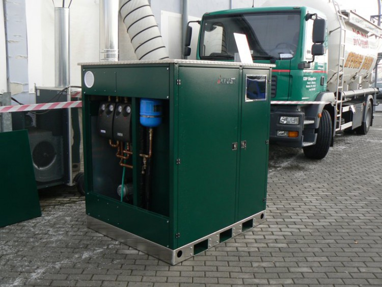 Котелна инсталация в мини контейнер 6