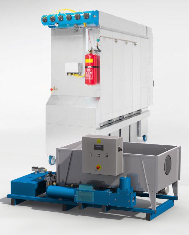 Брикетираща машина CSD aspirator